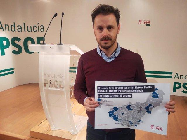 El parlamentario andaluz del PSOE de Granada Juan José Martín Arcos, en una foto de archivo.