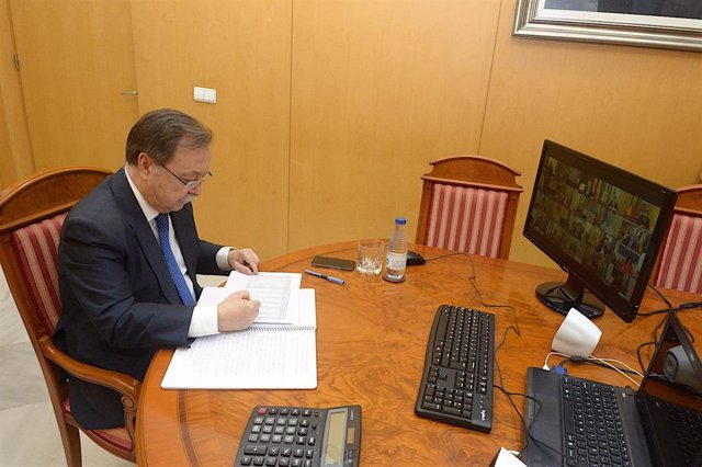 El presidente de Ceuta, Juan Vivas.