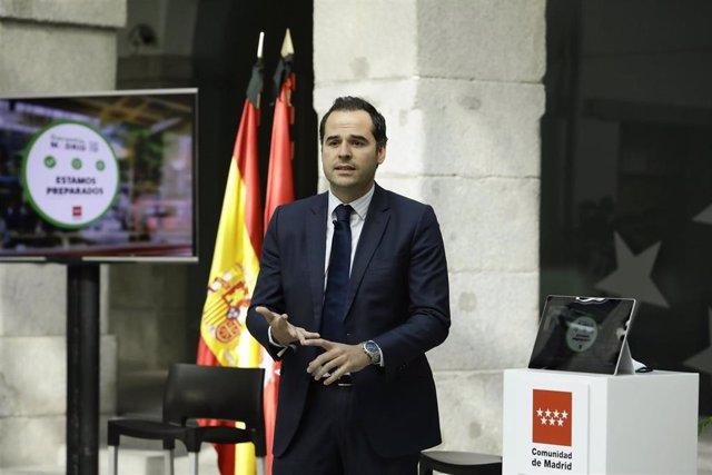 El portavoz del Gobierno regional, Ignacio Aguado