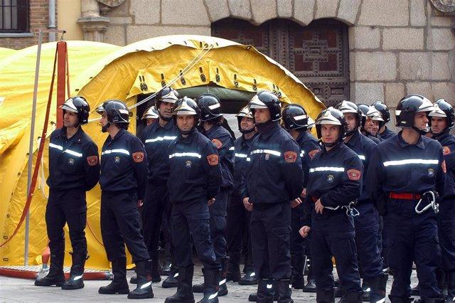 Imagen de recurso de bomberos del Ayuntamiento de Madrid
