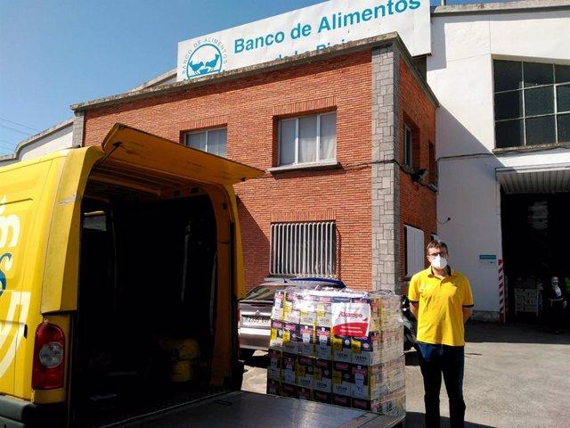 Coronavirus.- El Banco de Alimentos ha entregado 342.644 kilos desde el inicio d