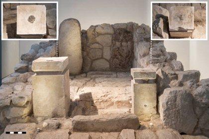 Restos de cannabis preservados en un santuario bíblico en Israel