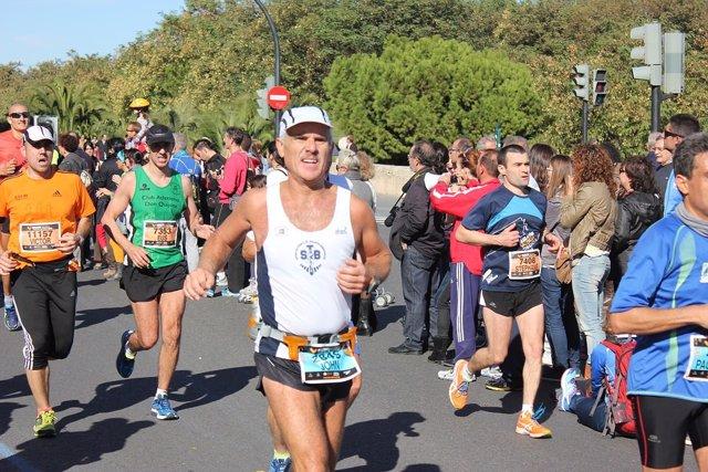 Imagen de una prueba de maratón