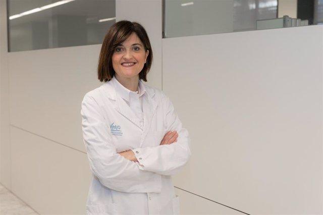 La oncóloga médica en el Hospital Vall dHebron e investigadora del grupo de tumores gastrointestinales y endocrinos del Vhio, Elena Élez.