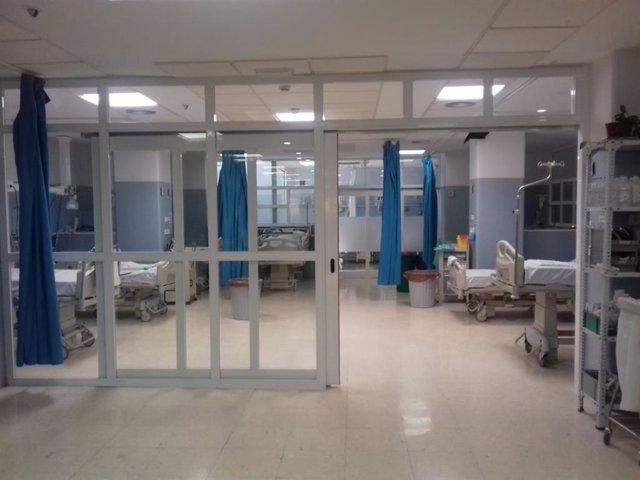 Area de Observación de Urgencias del Hospital Torrecárdenas de Almería