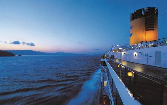 El crucero 'Costa Atlantica' en una travesía