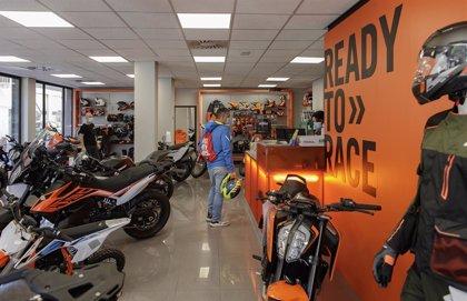 Las ventas de motos caen un 43,7% en mayo, hasta 10.152 unidades, y acumulan una bajada del 36,8%