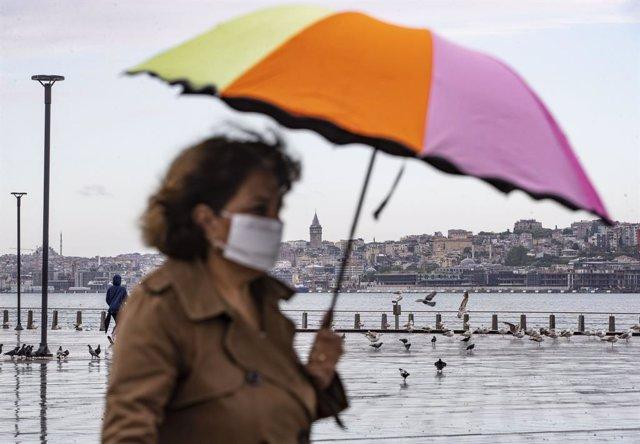 Coronavirus.- Erdogan inaugura otros dos hospitales en Estambul en plena pandemi