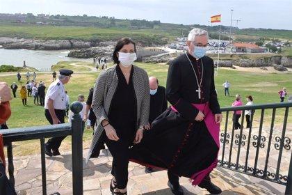"""Santander honra a la Virgen del Mar en una jornada """"atípica"""""""