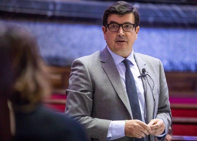 El portavoz de Ciudadanos (Cs) en el Ayuntamiento de València, Fernando Giner.