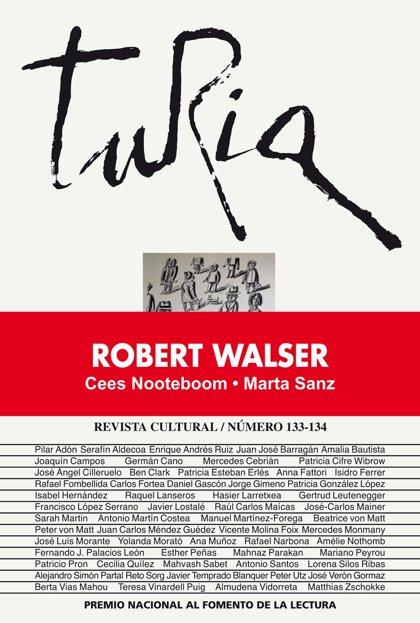 La revista 'Turia' de la Diputación de Teruel homenajea al escritor suizo Robert Walser
