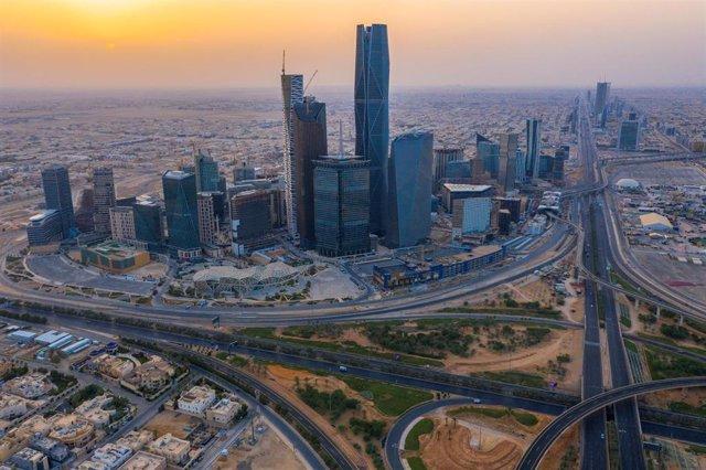Vista aérea de Riad