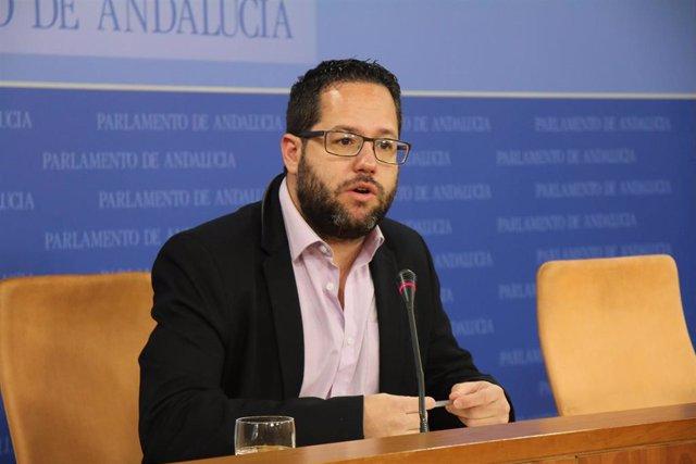 El portavoz adjunto de Adelante Andalucía, José Ignacio García, en una foto de archivo.
