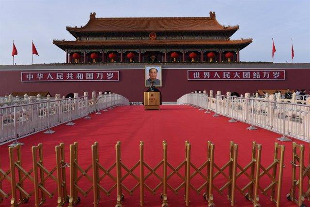 China.- La Policía de Hong Kong prohíbe la vigilia en recuerdo de la masacre de
