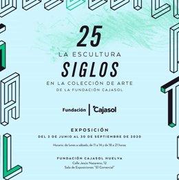 Cartel de la exposición '25 Siglos'.