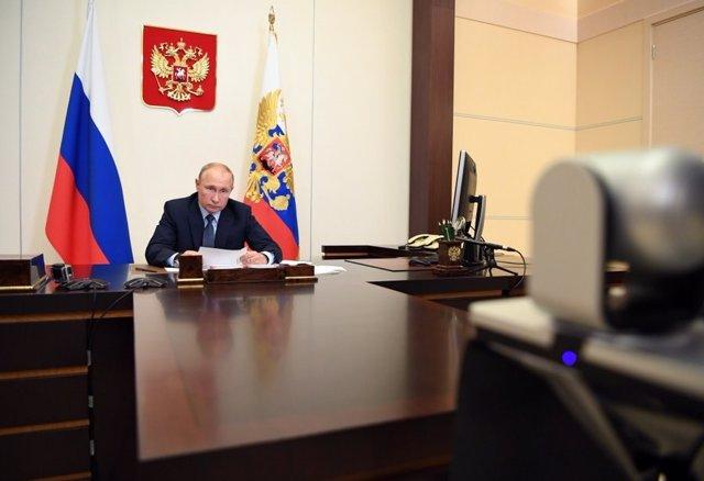 AMP.- Rusia.- Putin anuncia que el referéndum sobre la reforma constitucional pa