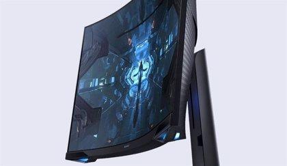 Samsung presenta su monitor con curvatura 1000R para 'gaming' Odyssey G7