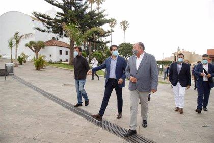 Finalizan las obras del entorno de la plaza de San Pedro (El Sauzal) tras una inversión de 1,3 millones