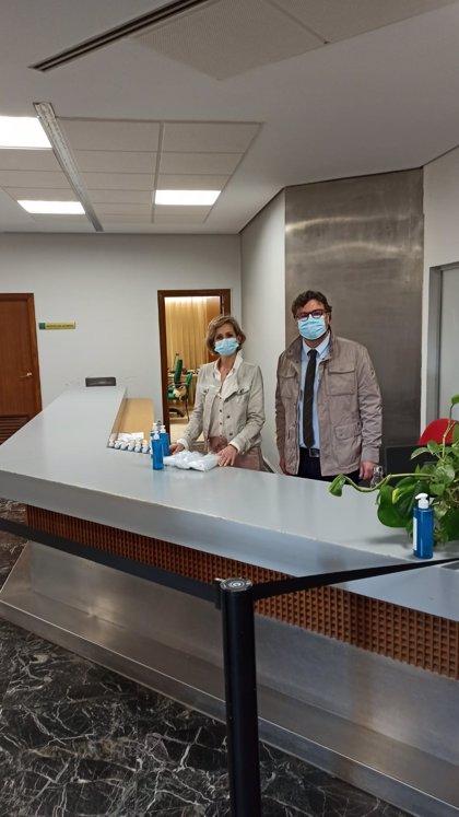 Educación pone a disposición de los centros de la provincia de Córdoba 32.000 mascarillas y 6.495 litros de gel