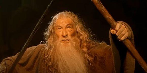 1. Las mejores frases de Gandalf en El Señor de los Anillos no están en los libros de Tolkien, revela Sir Ian McKellan