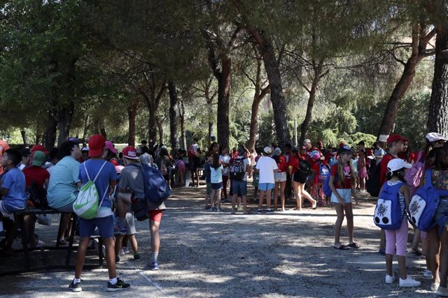 Campamento de verano para jóvenes y menores en Leganés (Madrid)