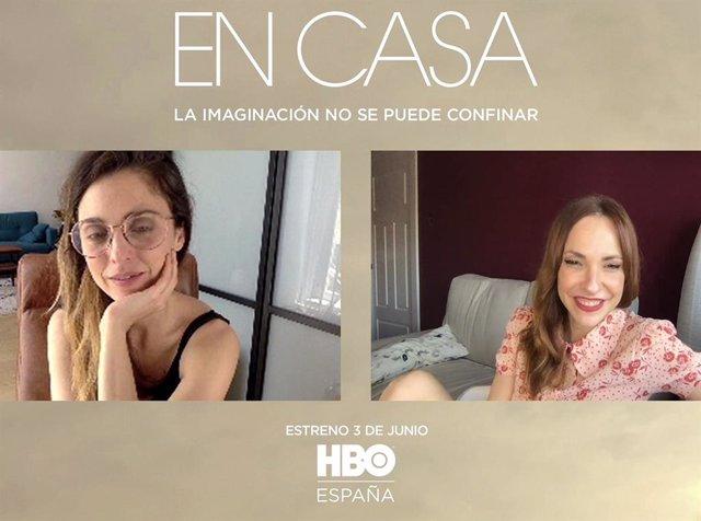 Leticia Dolera y Paula Ortiz, directoras de 'En casa', la nueva serie de HBO