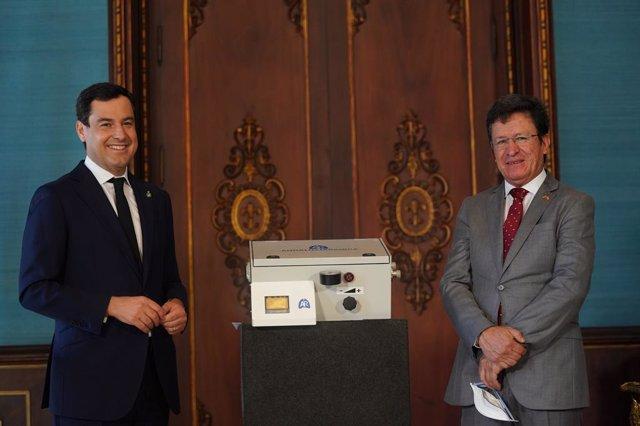 Coronavirus.- Andalucía prevé ceder respiradores a Ecuador en el marco de un pro
