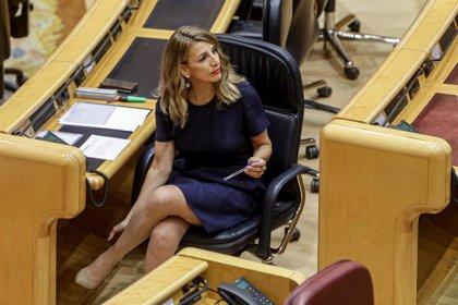 Díaz traslada a los 'riders' que el Ministerio sigue progresando en la ley para regular su situación