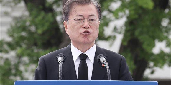 7. El presidente de Corea del Sur acepta la invitación de Trump para participar como invitado en la cumbre del G-7