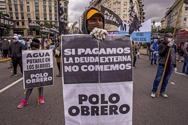Argentina.- Argentina anuncia una nueva prórroga del plazo para reestructurar el