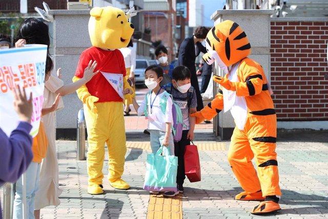 La tercera fase de reapertura de escuelasen Corea del Sur tendrá lugar este miércoles.
