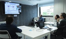 Pedro Duque se reúne con los responsables de proyectos que buscan nuevos test diagnósticos dentro del Fondo COVID-19