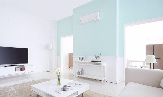 LG presenta un aire acondicionado que reduce los gases responsables de la contam
