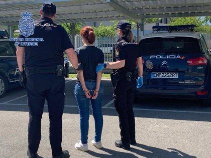 La Policía Nacional ha detenido a la autora de una estafa de 9.063 euros realizada a una empresa de Logroño