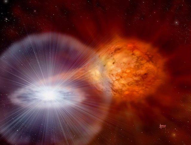 El litio de nuestra tecnología viene de una clase de explosiones estelares