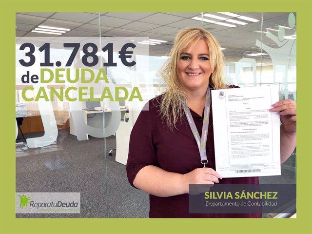 COMUNICADO: Repara tu deuda abogados cancelan 31.781 € a un vecino de Valladolid