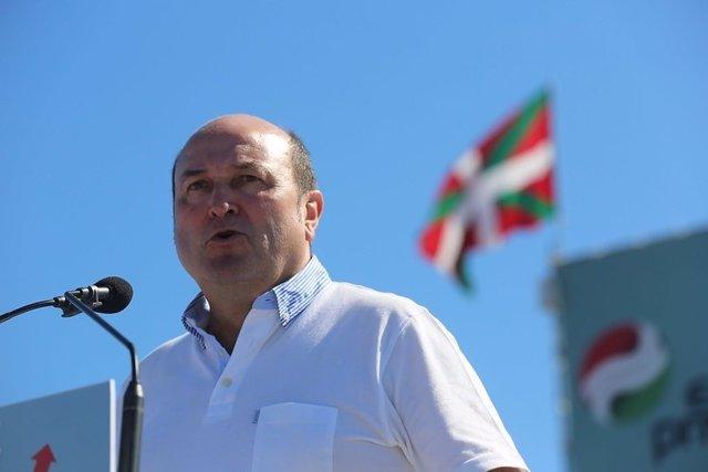 El president d'EBB del PNV, Andoni Ortuzar.