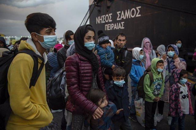 Europa.- ACNUR cuestiona el plan de transición de Grecia para integrar a los ref