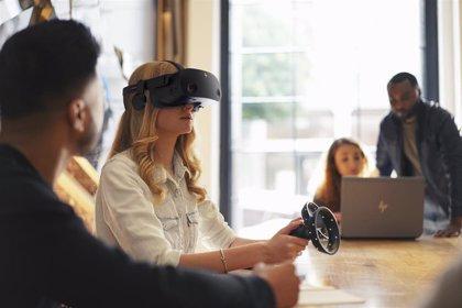 HP presenta sus gafas VR de última generación, compatibles con la realidad mixta de Microsoft y Valve