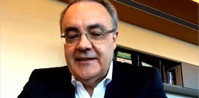 El conseller delegat de Cellnex Telecom, Tobías Martínez