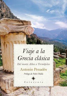 Portada del libro de Penadés 'Viaje a la Grecia clásica'