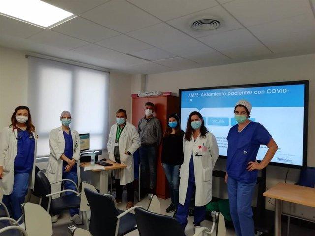 La Unidad de Calidad del Hospital Regional de Málaga trabaja junto a los servicios más implicados en el tratamiento del coronavirus