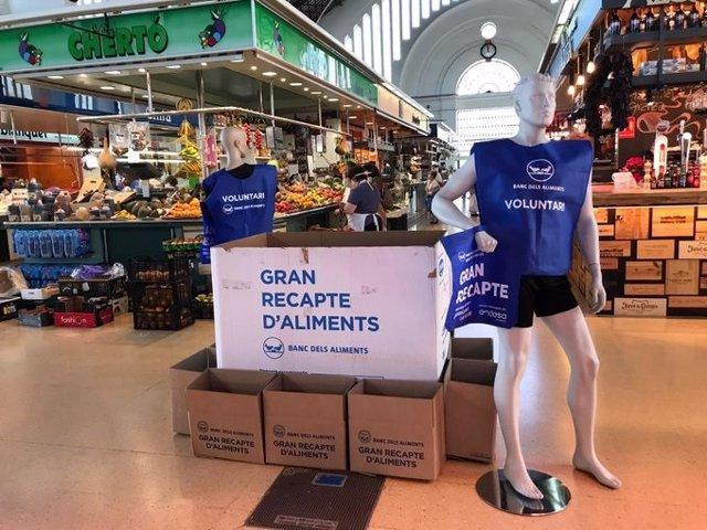Campanya de recollida del Banc dels Aliments dels Terres de l'Ebre