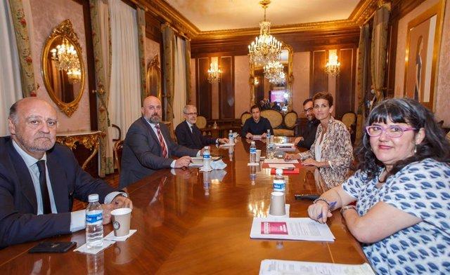 Reunión de la Comisión Permanente del III Acuerdo interinstitucional para la coordinación ante la violencia contra las mujeres en Navarra