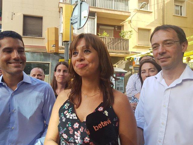 Marilén Barceló, Nacho Martín Blanco i Santiago Alonso (Cs) (arxiu)