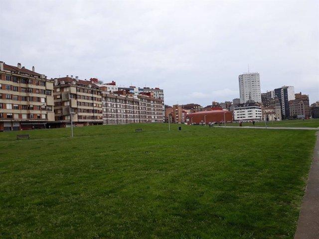 'Solarón' del Plan de Vías, en Gijón