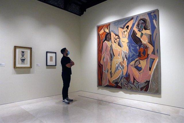 """Presentación de la nueva exposición permanente del Museo Picasso """"Diálogos con Picasso"""" 2020-2023. Málaga 02 de junio del 2020"""