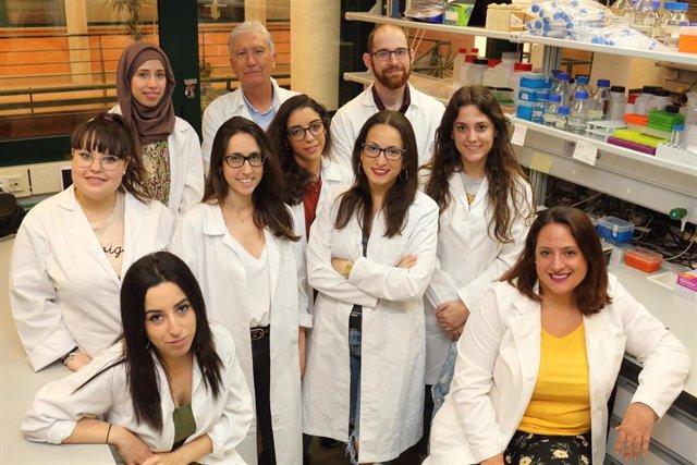 Grupo de investigación del profesor José Antonio Sánchez Alcázar