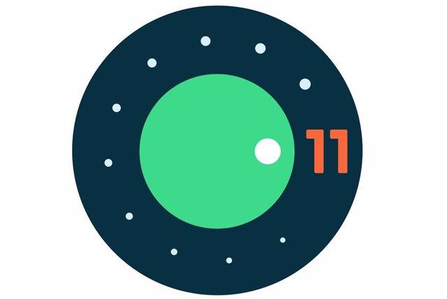 Logo de Android 11.