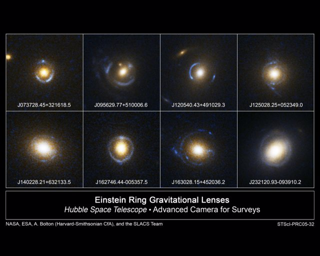 Archivos del primer anillo de Einstein permiten calcular su distancia